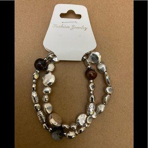 💙2/$15 Fashion Jewelry 2 Stretch Bracelets NWT